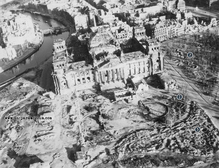 国会大厦1945
